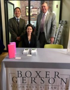 Gary Lee Maria Sager John Harrigan - San Francisco Law Firms - Boxer & Gerson Attorneys at Law, LLP